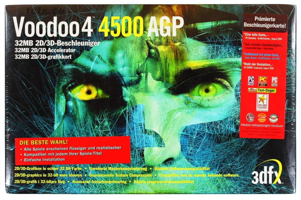 3DFX Voodoo 4 4500 PCI-AGP Windows Driver